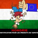 HONGRIE : Le coût de la notification pour les produits du vapotage sera salée.