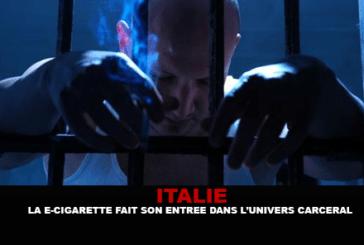 ITALIE : La e-cigarette fait son entrée dans l'univers carcéral