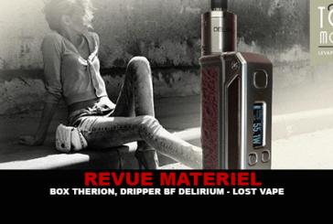RECENSIONE: BOX THERION BF 75W E DRIPPER BF DELIRIUM BY LOST VAPE