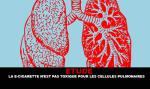 מחקר: הסיגריה האלקטרונית אינה רעילה לתאי ריאה אנושיים.