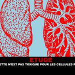 ÉTUDE : La e-cigarette n'est pas toxique pour les cellules pulmonaires humaines.