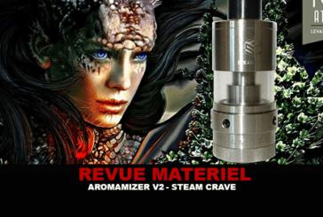 REVUE : AROMAMIZER V2 PAR STEAM CRAVE