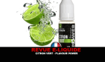 REVIEW: LEMON GREEN (RANGE THE FRUIT) BY FLAVOR POWER