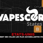 ETATS-UNIS : Un classement des villes les plus accueillantes pour la vape.