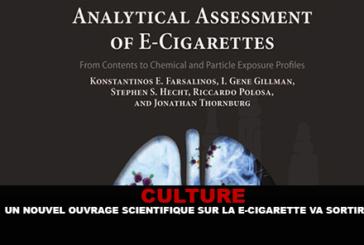 KULTUR: Ein neues wissenschaftliches Buch über E-Zigaretten wird herauskommen.