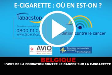BELGIO: L'opinione della fondazione contro il cancro sulla sigaretta elettronica.
