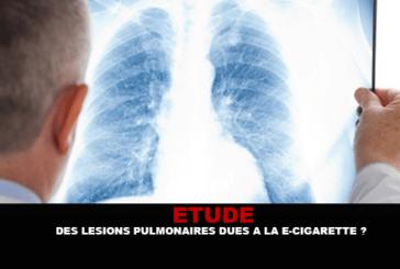 STUDY: Pulmonary lesions due to the e-cigarette?