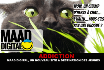 ADDICTION: Maad digital, a new site for young people.