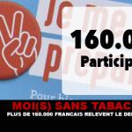 ME (S) SENZA TABACCHI: più di 160.000 francesi raccolgono la sfida!