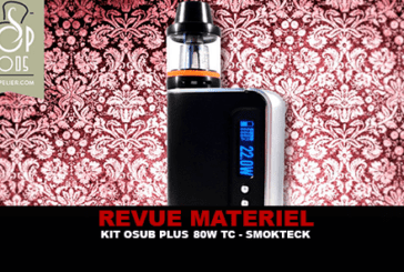 RECENSIONE: OSUB PLUS 80W TC KIT BY SMOK