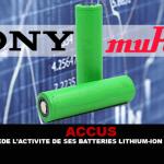 ACCUS: סוני מוכרת את עסקי סוללות ליתיום-יון למורטה.