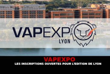 VAPEXPO : Les inscriptions ouvertes pour l'édition de Lyon.