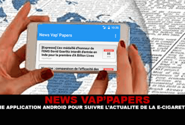 NEWS VAP'PAPERS: An android application to follow the news of the e-cigarette.