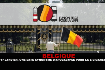 בלגיה: ינואר XNXX, תאריך נרדף אפוקליפסה עבור סיגריה אלקטרונית?