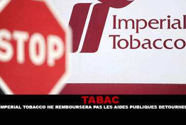 TOBACCO: Imperial Tobacco will not reimburse diverted state aid.