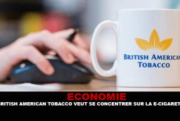 ECONOMY: British American Tobacco wants to focus on the e-cigarette