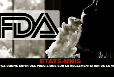 """ארה""""ב: ה- FDA סוף סוף נותן פרטים לחנויות על הרגולציה של סיגריה אלקטרונית."""