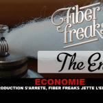כלכלה: ייצור נעצר, סיבי פריקים זורקים את המגבת.