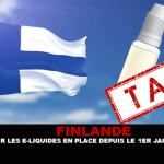 FINLAND: The tax on e-liquids in place since the January 1er.