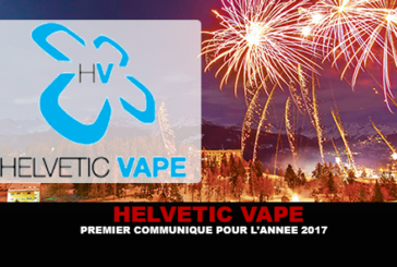HELVETIC VAPE: First press release for 2017