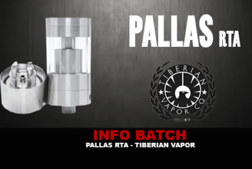 INFO BATCH : Pallas RTA (Tiberian Vapor)