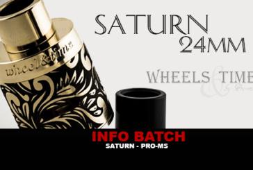 BATCH INFO: Saturn Dripper (Pro-Ms)