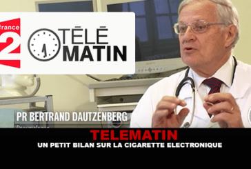 TELEMATIN: Un piccolo rapporto sulla sigaretta elettronica con il dottor Dautzenberg.