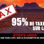"""ארה""""ב: לקראת מס 95% על אריזונה E- סיגריות?"""