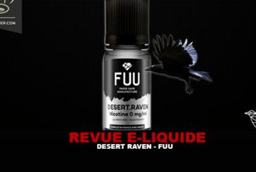 REVUE : DESERT RAVEN (GAMME ORIGINAL SILVER) PAR FUU