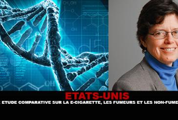 ÉTATS-UNIS : Une étude comparative sur la e-cigarette, les fumeurs et les non fumeurs.