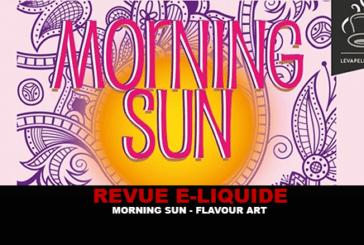 REVUE : MORNING SUN (GAMME ARTIST'S TOUCH) PAR FLAVOUR ART