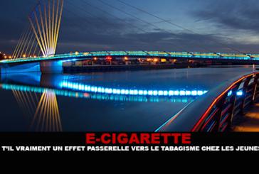 E-CIGARETTE : Y'a t'il vraiment un effet passerelle vers le tabagisme chez les jeunes ?