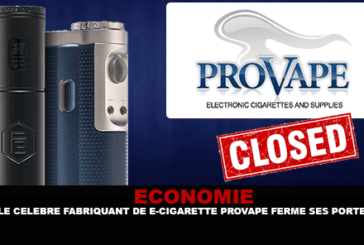 ECONOMY: The famous manufacturer of e-cigarette Provape closes its doors.