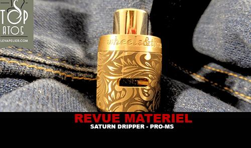 REVUE : SΩTURN DRIPPER 24 PAR WHEELS & TIME BY PRO-MS