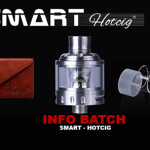 INFO BATCH : Clearomiseur Smart (Hotcig)