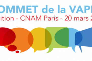 Summit of the vape 2th edition (CNAM Paris - France)