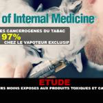 STUDIO: i vapers sono molto meno esposti ai prodotti tossici e cancerogeni dei fumatori.