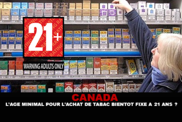 CANADA: The minimum age for buying tobacco soon set at 21?