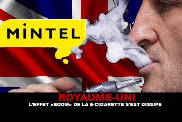 ROYAUME-UNI : L'effet «Boom» de la cigarette électronique s'est dissipé.