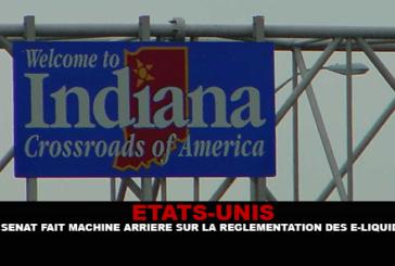 STATI UNITI: il senato si muove all'indietro sulla regolamentazione dell'e-liquids in Indiana.