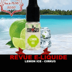 "HERZIENING: LEMON ICE ""CIRKUS AUTHENTIC MENTHES"" DOOR VDLV"