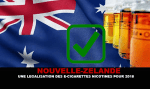 NEW ZEALAND: Legalization of nicotine e-cigarettes for next year.