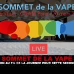 SOMMET DE LA VAPE : L'évolution au fil de la journée pour cette seconde édition.