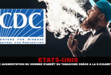 STATI UNITI: aumento del numero di smettere di fumare grazie alla sigaretta elettronica.