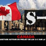 CANADA: preoccupazione per il disegno di legge federale S-5 sullo svapo