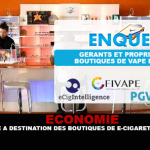 ECONOMY: An investigation aimed at French electronic cigarette shops.
