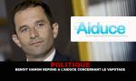 POLITICA: Benoit Hamon risponde all'Aiuto con lo svapo.