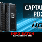 INFO BATCH : Captain PD270 (Ijoy)