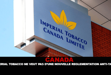 CANADA: Imperial Tobacco does not want new anti-smoking regulations.