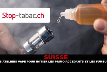 SWITZERLAND: Vape workshops to introduce first-time buyers and smokers.